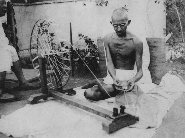 Gandhi was a maker